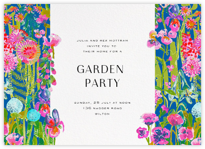 Hampton - Liberty - Summer entertaining invitations