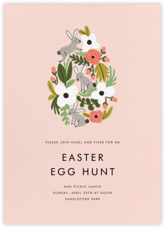 The Rabbit or the Egg - Meringue - Rifle Paper Co. -
