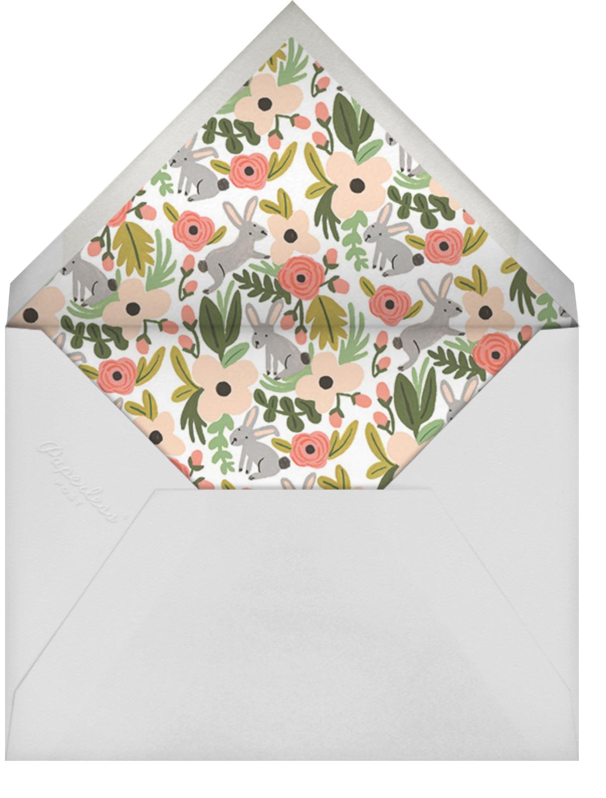 Bunny Brushstrokes - Rifle Paper Co. - Easter - envelope back