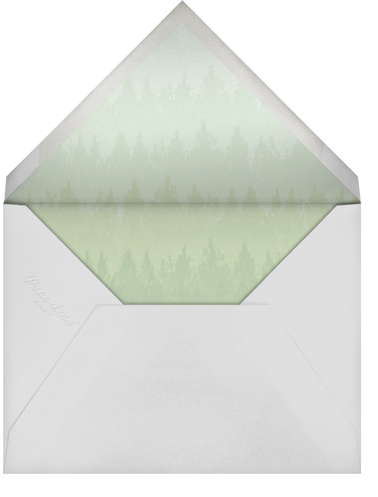 Rainier (Photo Save the Date) - Paperless Post - Photo  - envelope back