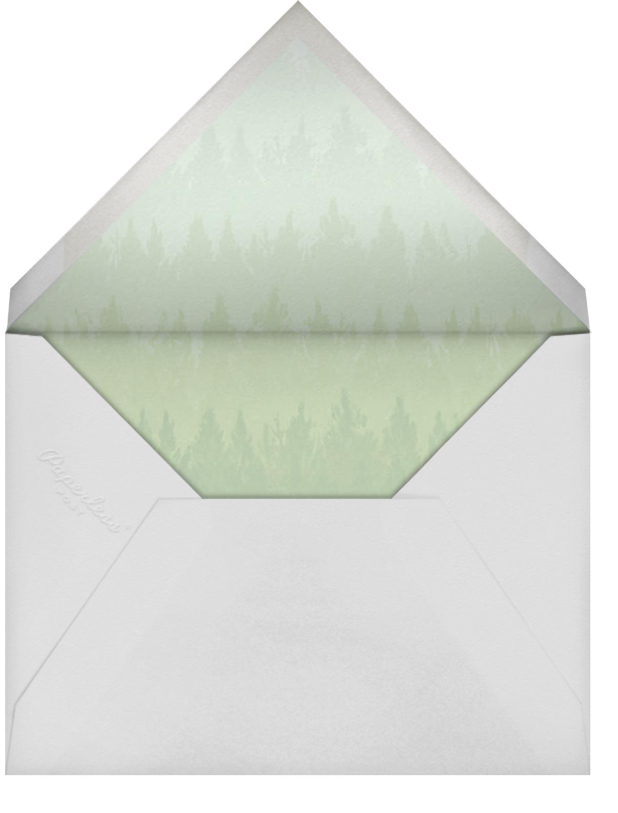 Rainier (Photo Save the Date) - Paperless Post - Envelope