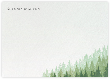 Rainier (Stationery) | horizontal