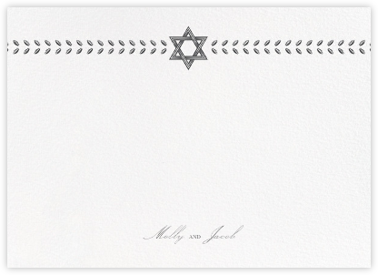 Kayitz II (Stationery) - Navy - Paperless Post - Stationery