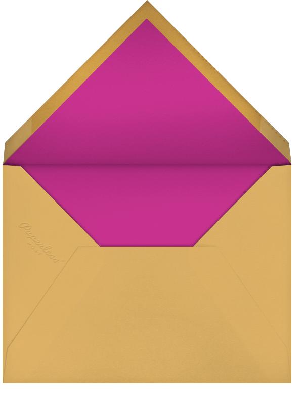 Choli (Photo Save the Date) - Magenta - Paperless Post - Photo  - envelope back