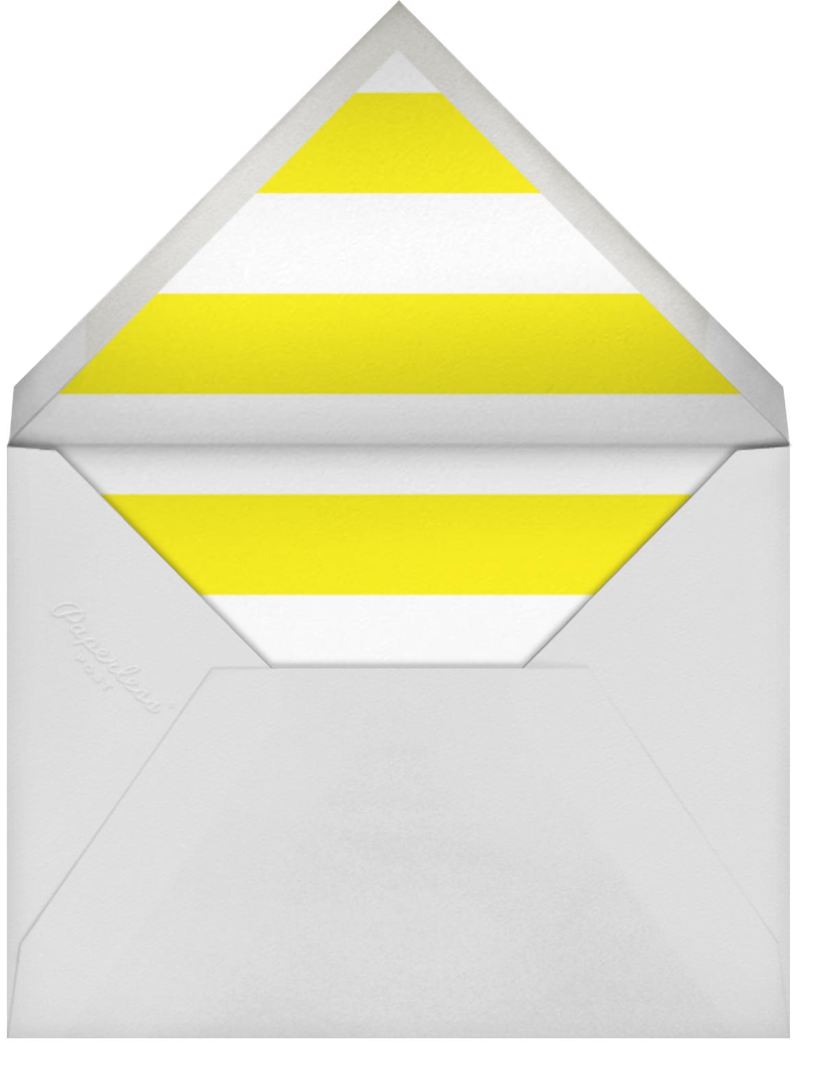 Balloon Birthday (Photo) - Yellow - kate spade new york - Kids' birthday - envelope back