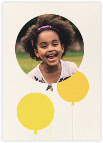 Balloon Birthday (Photo) - Yellow - kate spade new york