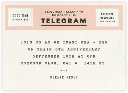 This Just In - Slate - kate spade new york - Celebration invitations