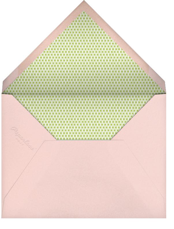 My Little Unicorn (Photo)  - Petit Collage - Unicorn invitations - envelope back
