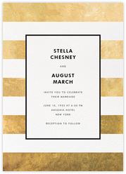 Stripe Suite (Invitation) - Gold