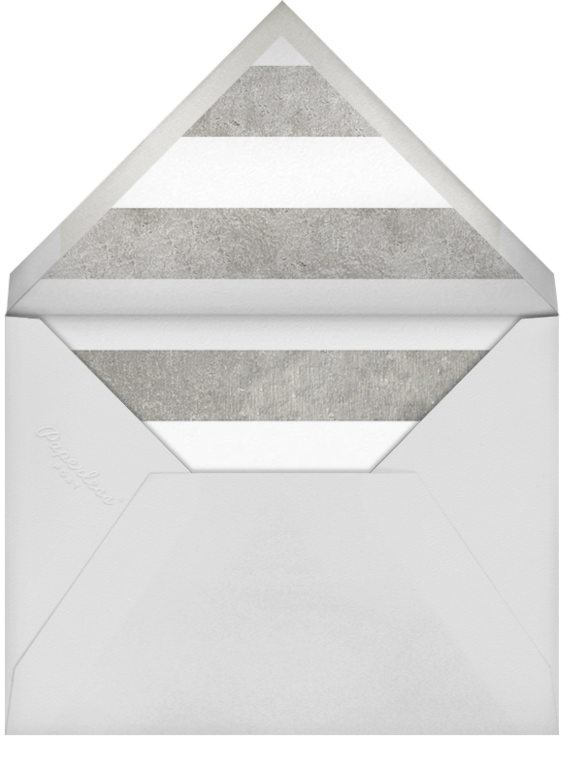 Stripe Suite (Stationery) - Silver - kate spade new york - General - envelope back