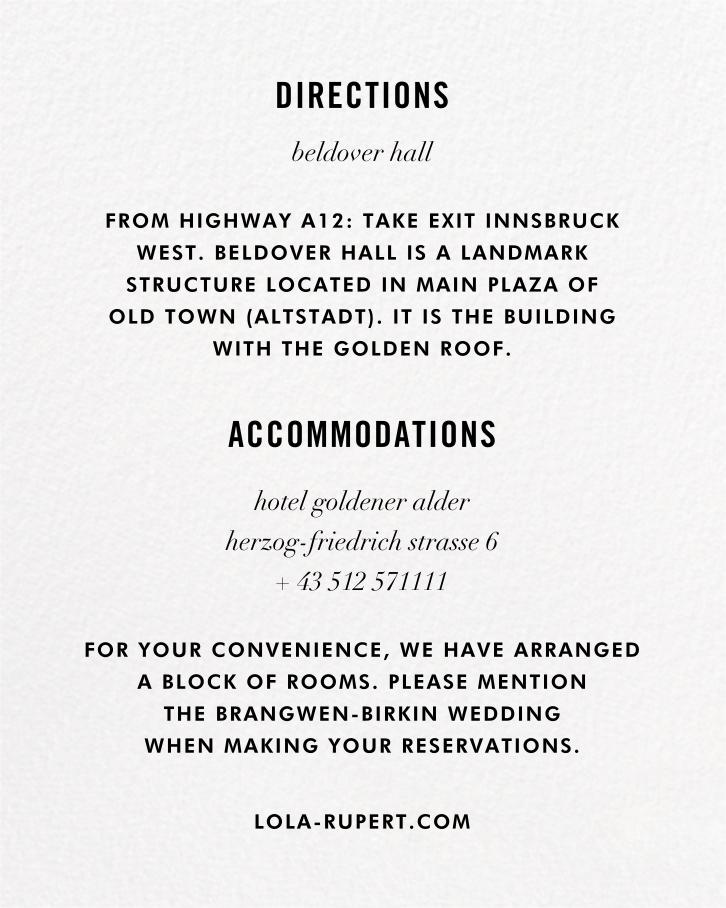 Confetti (Invitation) - White/Gold - kate spade new york - All - insert front
