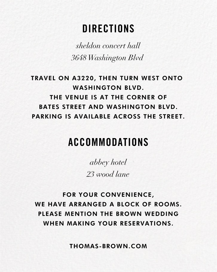 Confetti (Invitation) - White/Gold - kate spade new york - All - insert front