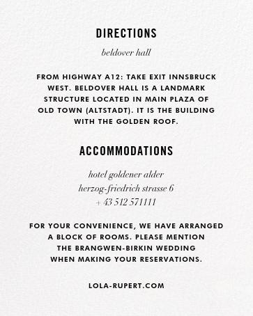 Confetti (Invitation) - White/Silver - kate spade new york - All - insert front