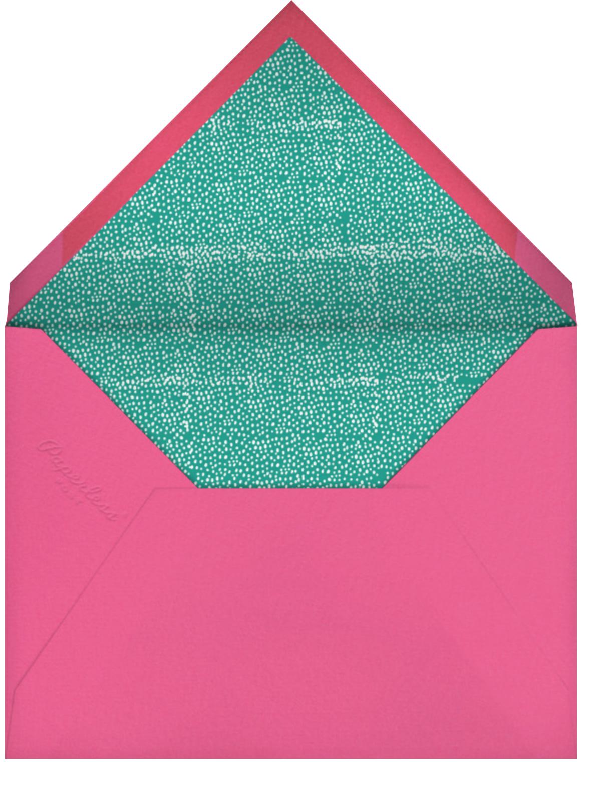 Mini Berlin (Photo) - Pink - Mr. Boddington's Studio - Kids' birthday - envelope back