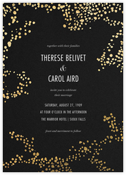Evoke (Invitation) - Black/Gold