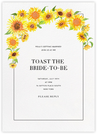 Heirloom (Invitation) - Paperless Post - Bridal shower invitations