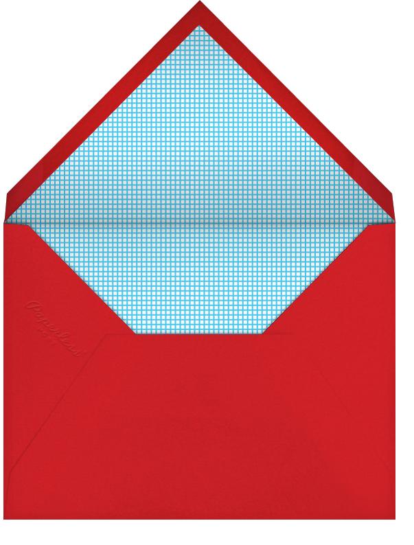 Gumball - The Indigo Bunting - Kids' birthday - envelope back