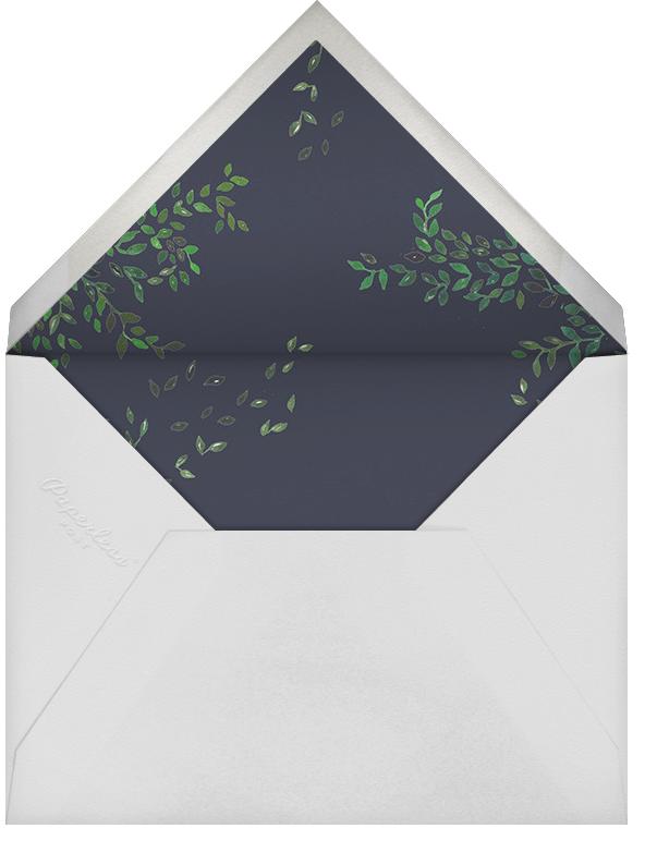 Hedgerow - Happy Menocal - Rehearsal dinner - envelope back