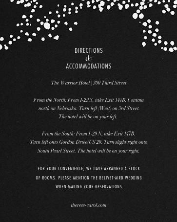Evoke (Invitation) - Black/Rose Gold - Kelly Wearstler - All - insert front