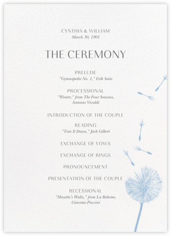 Montmagny (Program) - White - Paperless Post - Wedding menus and programs - available in paper