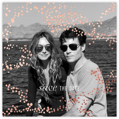 Evoke (Photo Save the Date) - Rose Gold - Kelly Wearstler - Save the dates