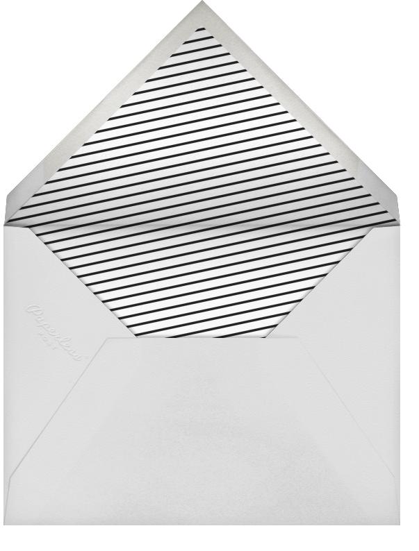 Heart Line - Rose Gold - Paperless Post - Classic  - envelope back