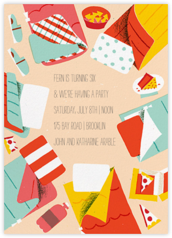 Sleep No More - Paperless Post - Birthday invitations