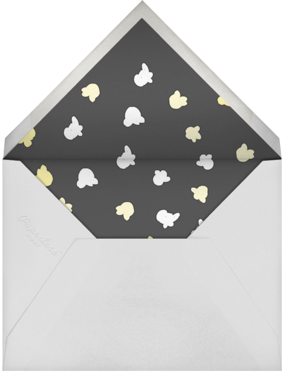 What's Poppin' - Paperless Post - Kids' birthday - envelope back