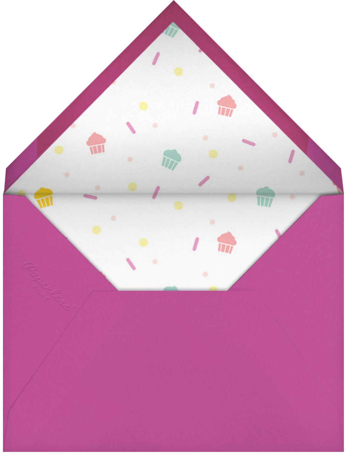 Cakefetti (Photo) - Multi - Paperless Post - Kids' birthday - envelope back