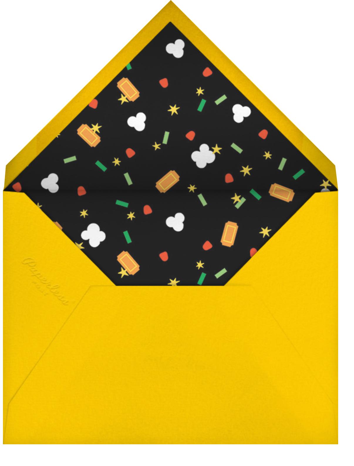 Filmfetti (Photo) - Green - Paperless Post - Envelope