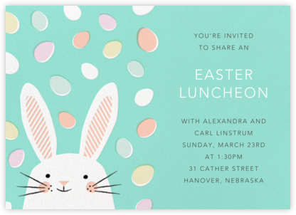 Easter Jellies (Invitation) | horizontal