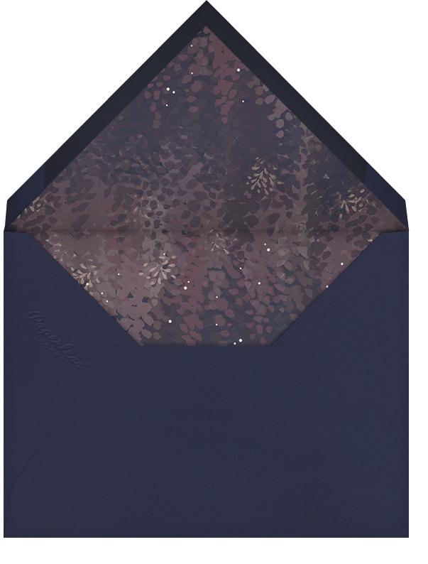 Violette (Stationery) - Dusk - Paperless Post - Personalized stationery - envelope back