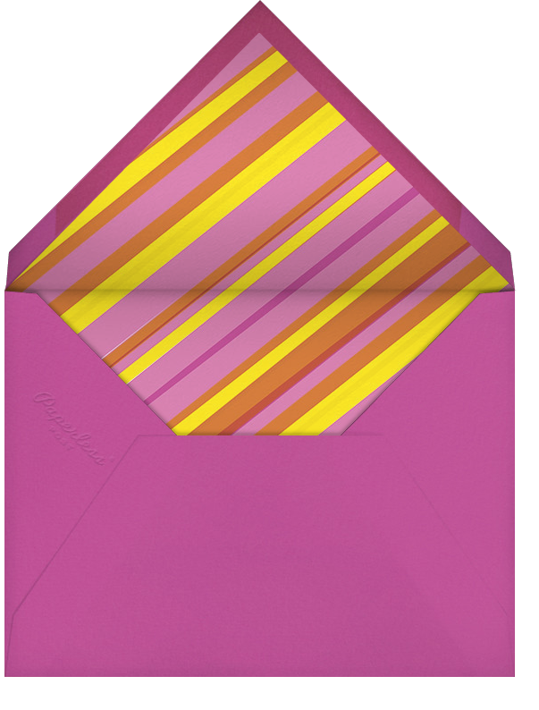 Let's Roll (Photo) - Pink - Hello!Lucky - Kids' birthday - envelope back