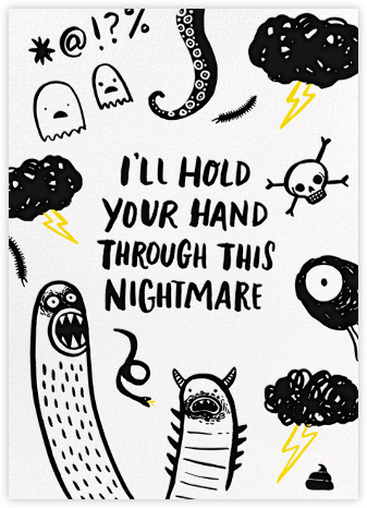 Nightmarish - Hello!Lucky - Encouragement cards