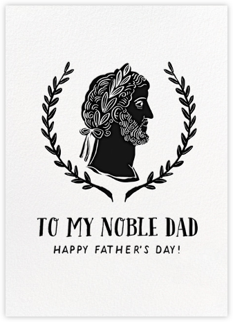 Noble Dad - Hello!Lucky - Father's Day cards
