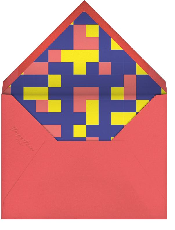 Power Up - Paperless Post - Kids' birthday - envelope back