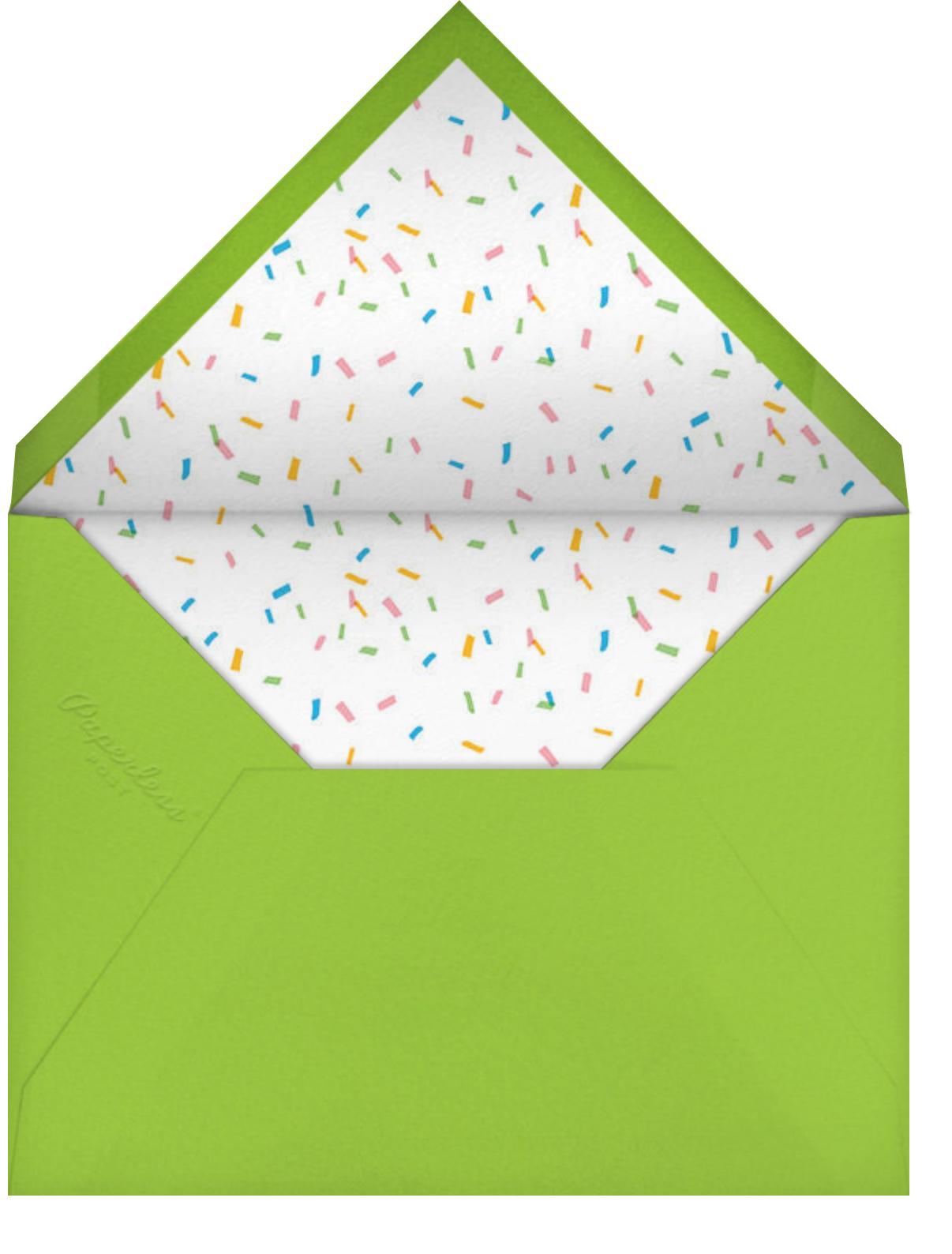 Pizza Party (Photo) - Hello!Lucky - Kids' birthday - envelope back