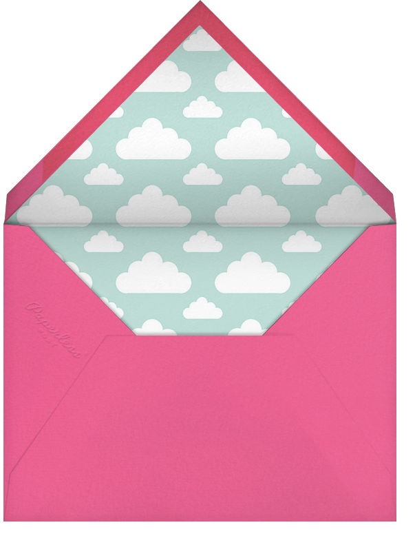 Cloud Nine (Photo) - Hello!Lucky - Kids' birthday - envelope back