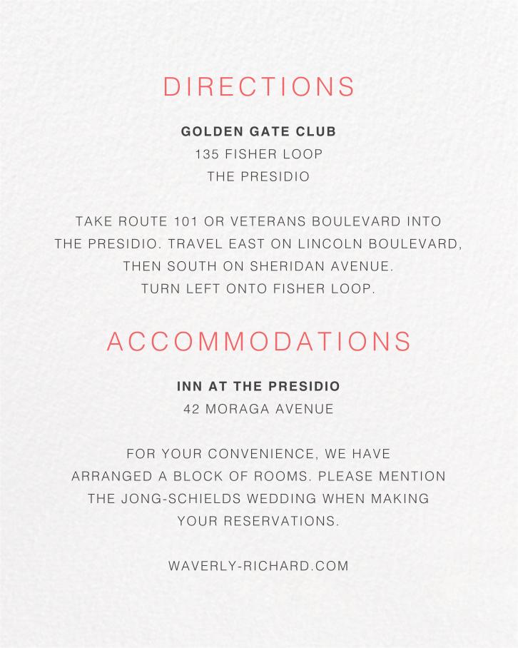 Tableau (Invitation) - Paperless Post - Printable invitations - insert front