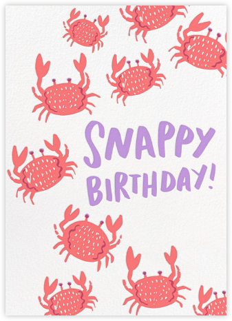 Crustacean Sensation - Hello!Lucky - Birthday