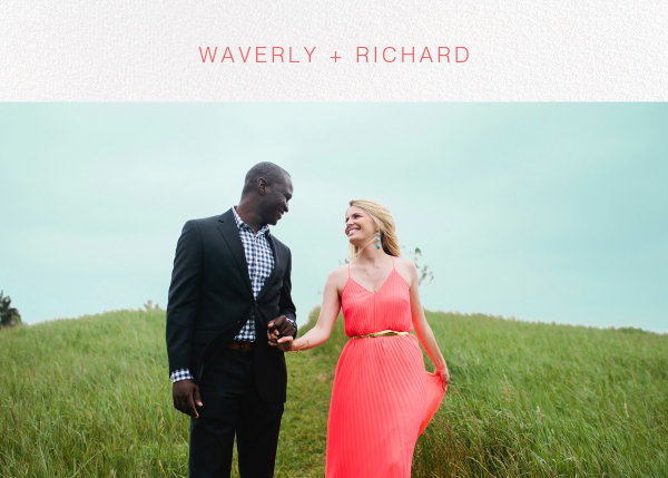 Tableau (Stationery) - Paperless Post - Wedding stationery