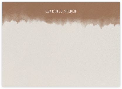 Dip Dye (Stationery) - Mocha - Paperless Post -