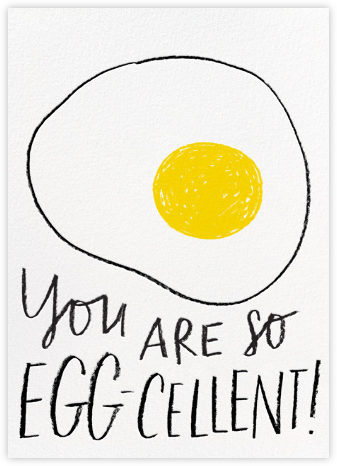 Eggcellent - Hello!Lucky - Congratulations cards