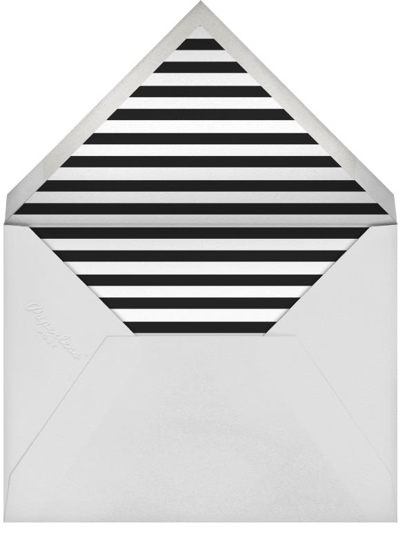 Plume (Tall) - White/Rose Gold - Paperless Post - Envelope