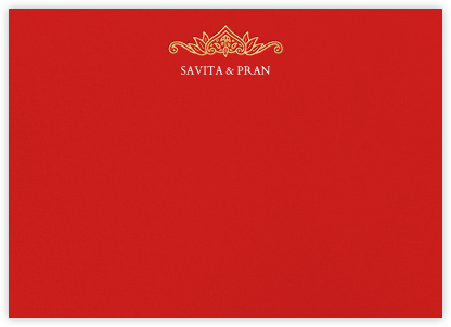 Dvaar (Stationery) - Red | null