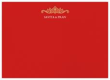 Dvaar (Stationery) - Red