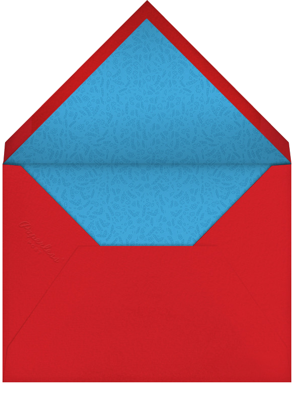 Dvaar (Stationery) - Red - Paperless Post - Personalized stationery - envelope back