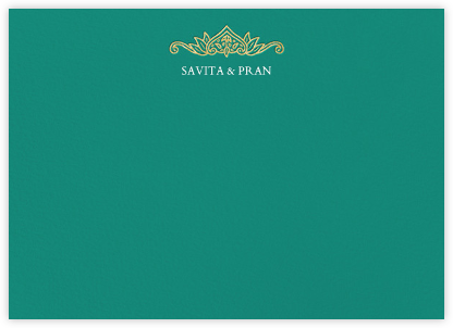 Dvaar (Stationery) - Teal | null