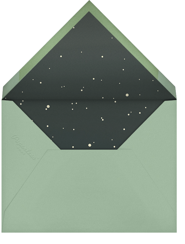 Laurelwood (Photo Save the Date) - Green - Paperless Post - Photo  - envelope back