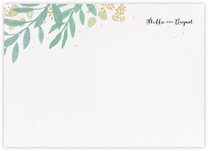 Laurelwood (Stationery) - White | null